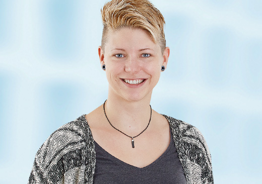 Christin Fränkel, Junior-Webentwicklerin