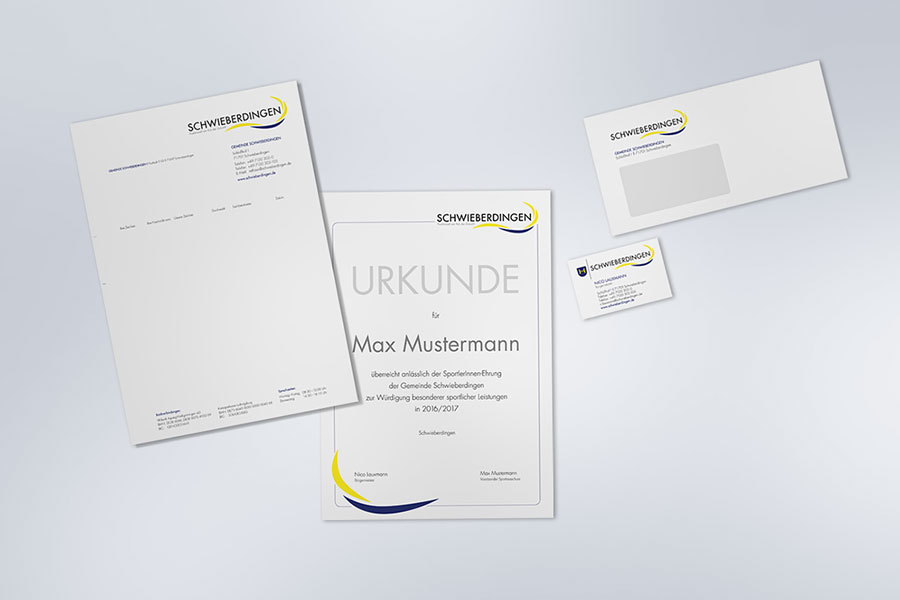 Schwieberdingen Corporate Design