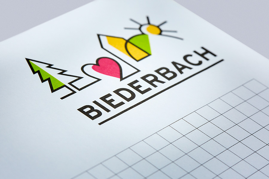Gemeinde Biederbach, Corporate Design