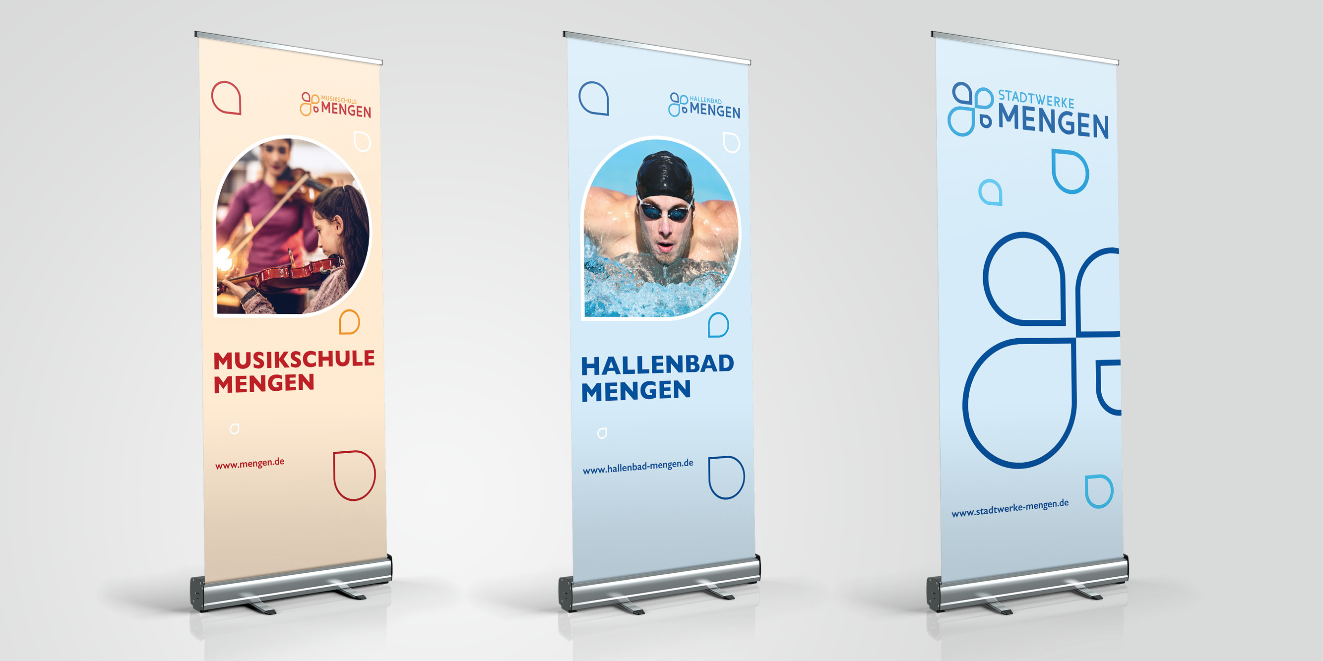 Stadt Mengen, Corporate Design